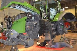 Første Fendt 1050 skovtraktor solgt i Danmark