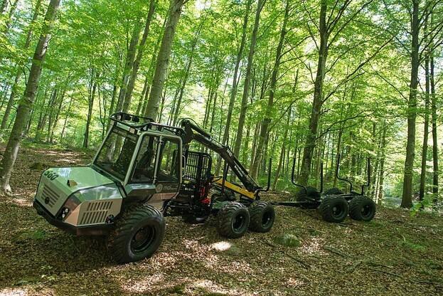 Malwa er et svensk mærke af skovmaskiner, som så småt er på vej i den danske skovbranche. Foto: Malwa.