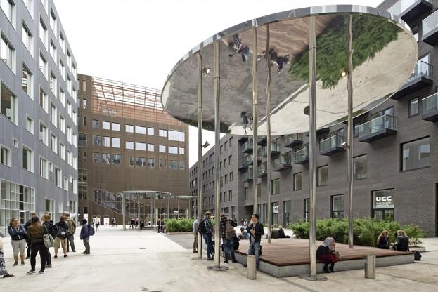 Malmos Landskaber får større og mere komplekse projekter -  blandt andet i Carlsberg Byen, hvor virksomheden har lagt 4000 kvm belægning, rejst tre overdækninger og plantet en lille urban skov. Pressefoto.