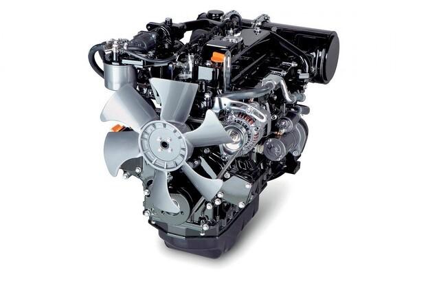 Sådan ser den ud, den nye Yanmar TNV-CR motor, der er Stage 5 Ready. Pressefoto.