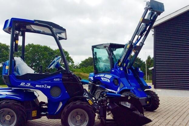 HCP Danmark introducerer nu to kompakte maskiner fra MultiOne til det danske marked. Pressefoto.