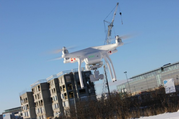 Dronen som den flyvende kollega