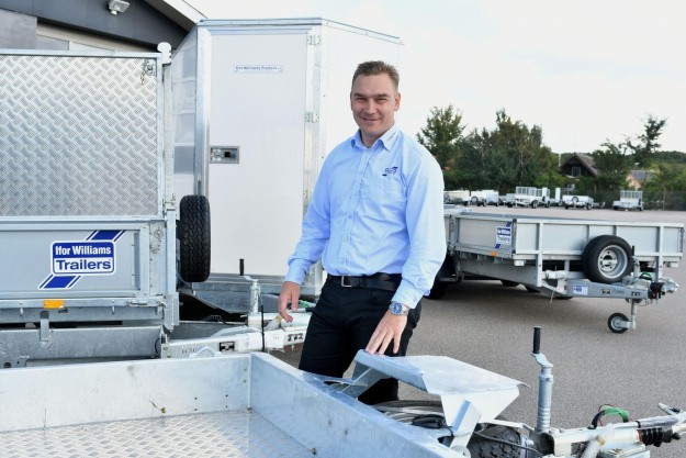 Markant stigning i trailersalget hos Ifor Williams Danmark