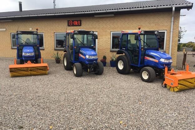 Tre traktorer til indre København