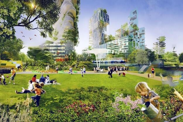 Sådan bliver fremtidens urbane parker