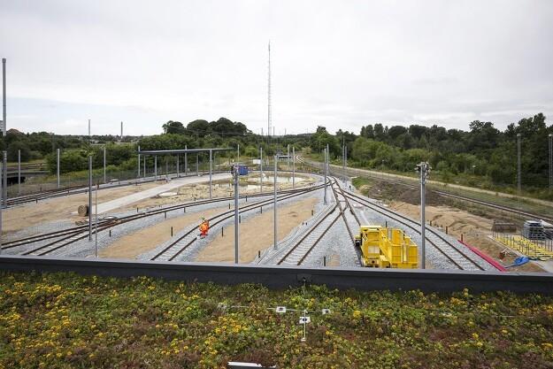 Grøn tagløsning på Aarhus Letbane