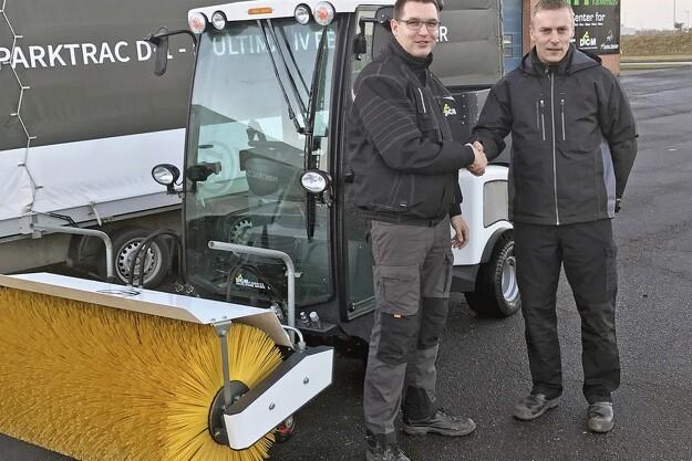Nordjysk firma får ParkTrac som nyt hovedmærke