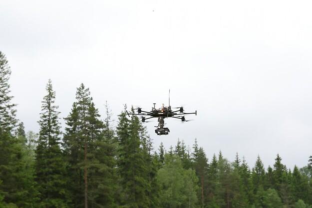 Droner slår til i Sverige
