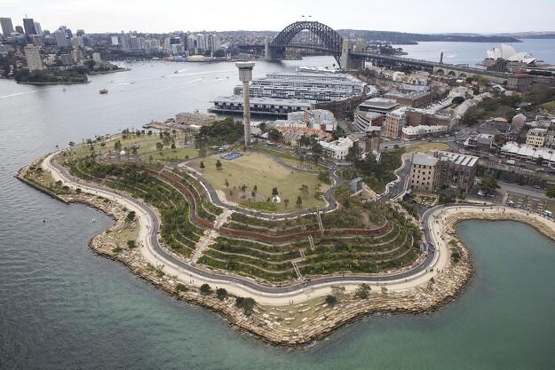 Australsk containerhavn forvandlet til bypark