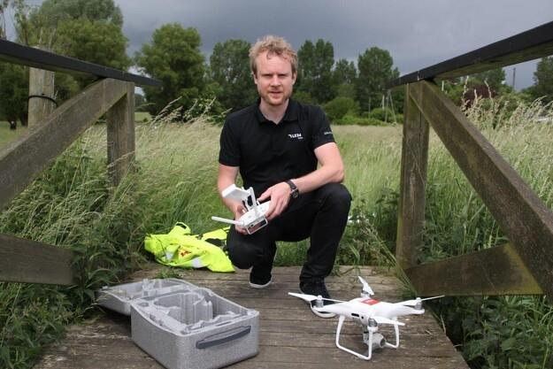 Landinspektører tager dronerne til sig