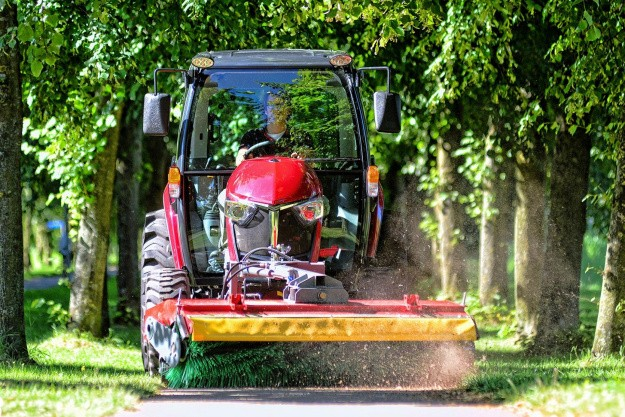 Prisvindende Yanmar-traktor er kommet til Danmark