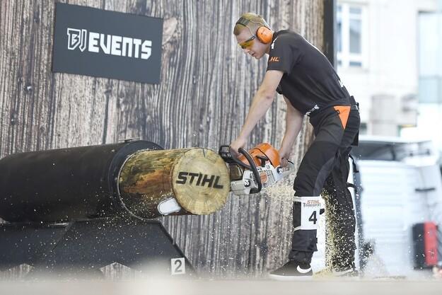 Dansk debutant tæt på medalje