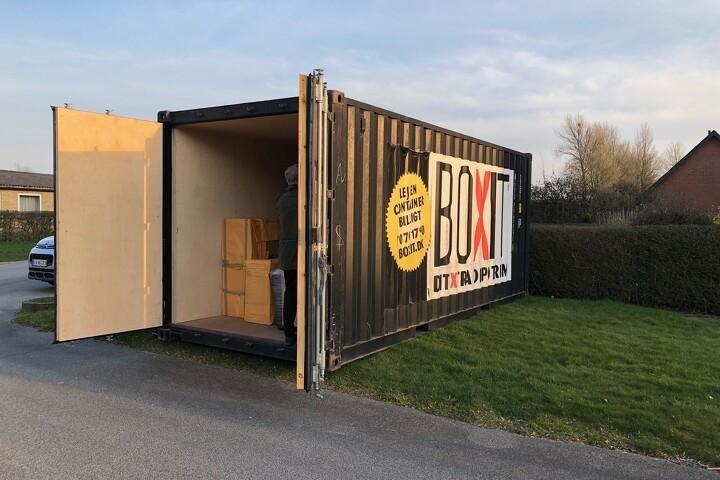 Container som slusesystem ved nordfynske plejehjem