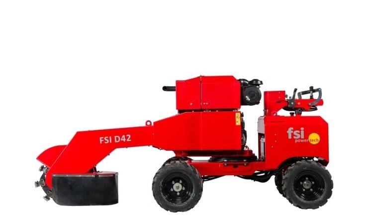 FSI lancerer splinterny stubfræser
