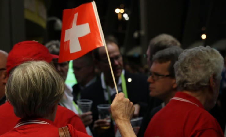 Danmark får klø af Schweiz