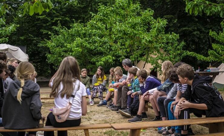 Skolehaver skal samle lokalsamfundet