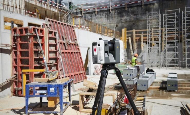 Ny scanner og maskinstyring fra Leica