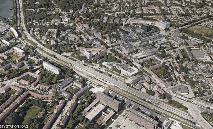 Tegnestue vil bygge oven på motorvejen