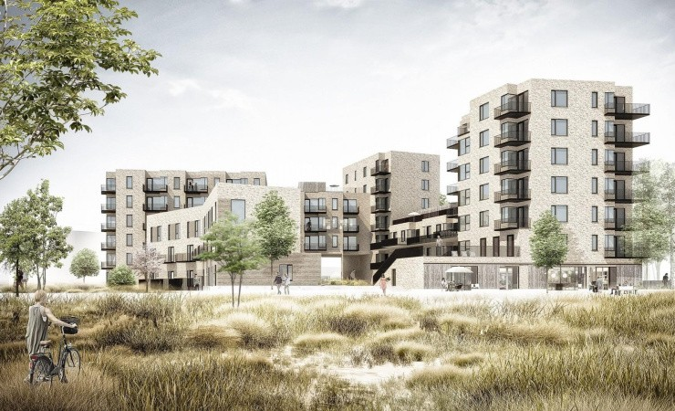 Arkæologisk fund skaber silhuetten af nyt boligbyggeri