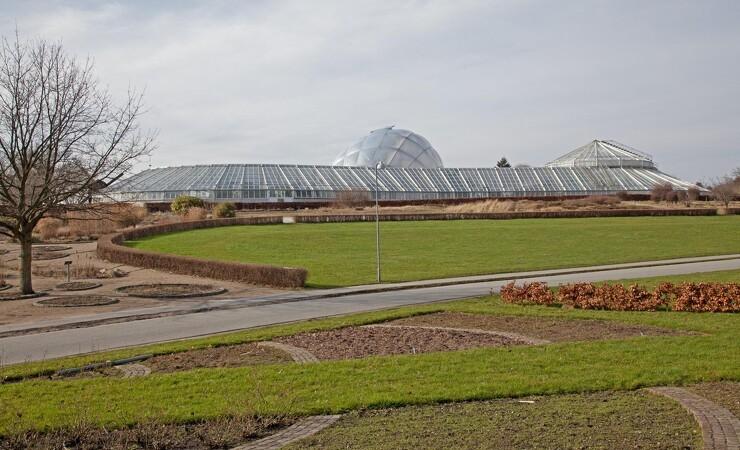 Ny oase i Botanisk Have er klar til støbning