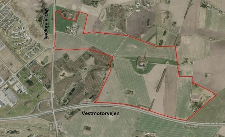 Ringsted får nyt erhvervsområde på 1,36 mio. m2