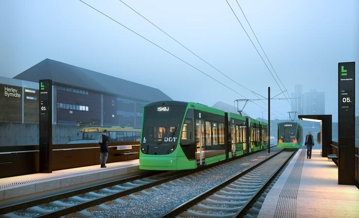 Hovedstadens Letbane får grønne tog