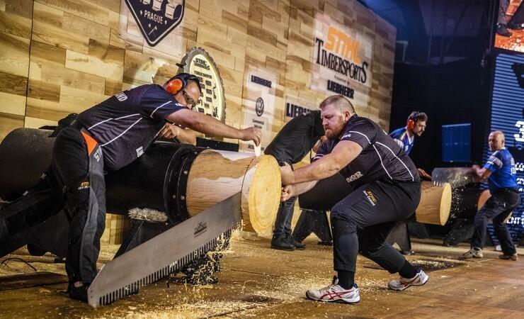 Australske træ-dræbere vandt VM i hak og sav
