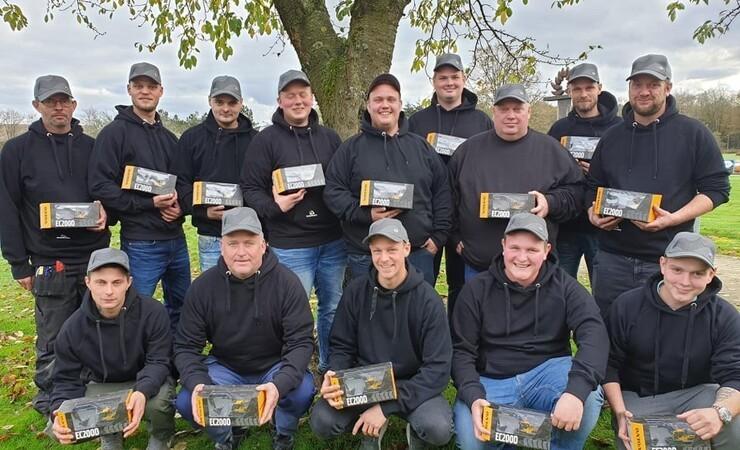 15 nye maskinførere uddannet i Ulfborg