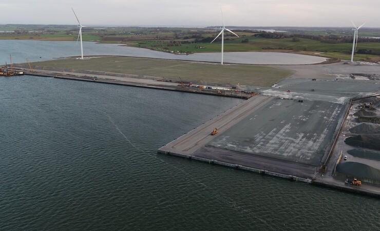 Lindø port of Odense får nøglerne til første etape af havneudvidelse