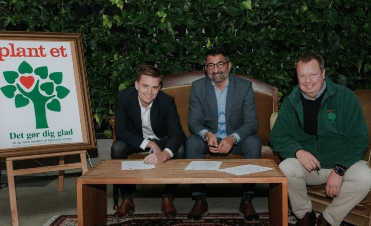 'Klimatosser' planter skov syd for Aarhus