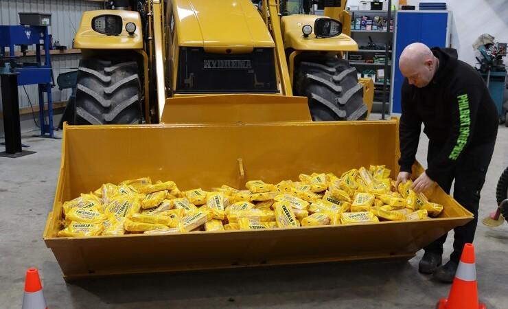 600 Citronmåner skabte glæde i det midtjyske