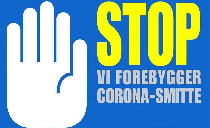 Print en Corona-advarsel til dine maskiner