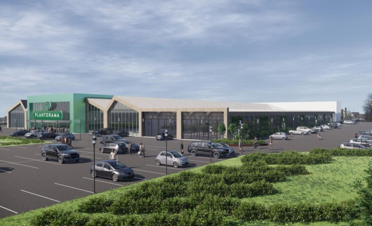 Plantorama vil bygge Danmarks største havecenter