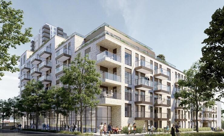 Lokalt ejendomsselskab bag projekt med 130 boliger i det centrale Aarhus