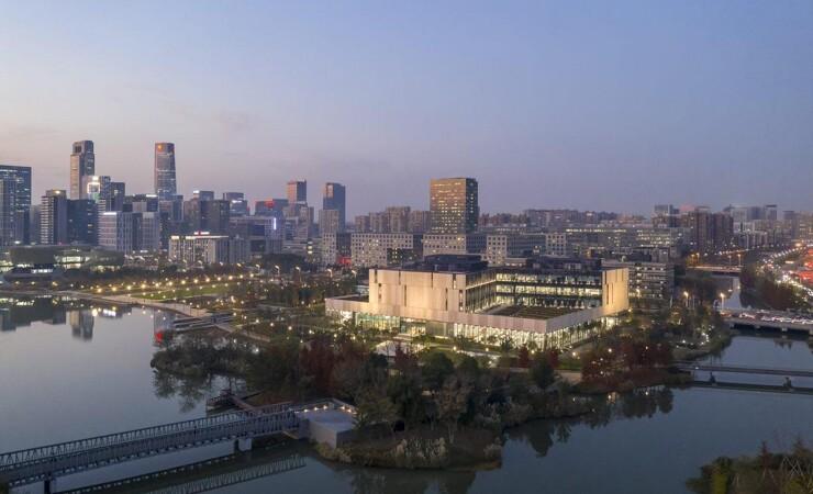 Nyt bibliotek i Kina er klar til at åbne