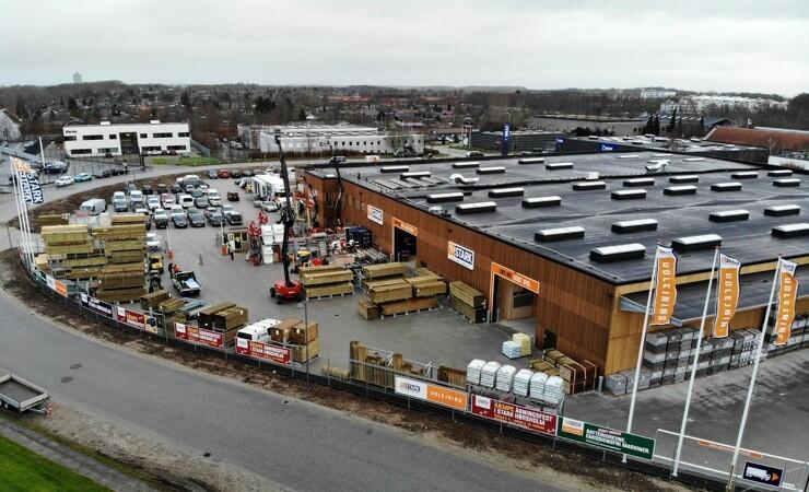 Danmarks første bæredygtige byggemarked overgår egne forventninger