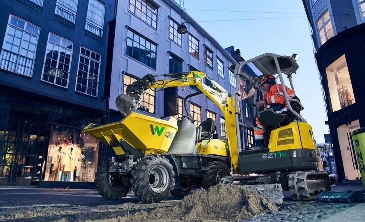 Wacker Neuson lancerer elektrisk minigraver
