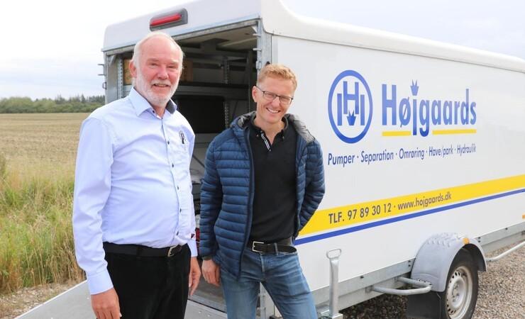 Højgaards rækker ud efter entreprenører