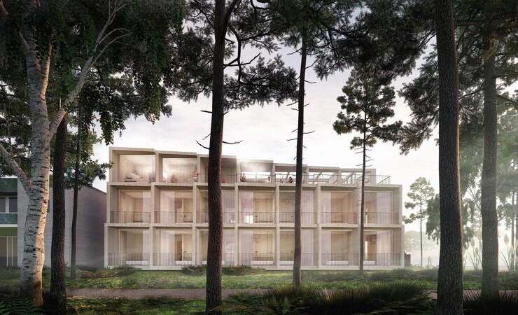 Klimapositivt hotelbyggeri på Bornholm