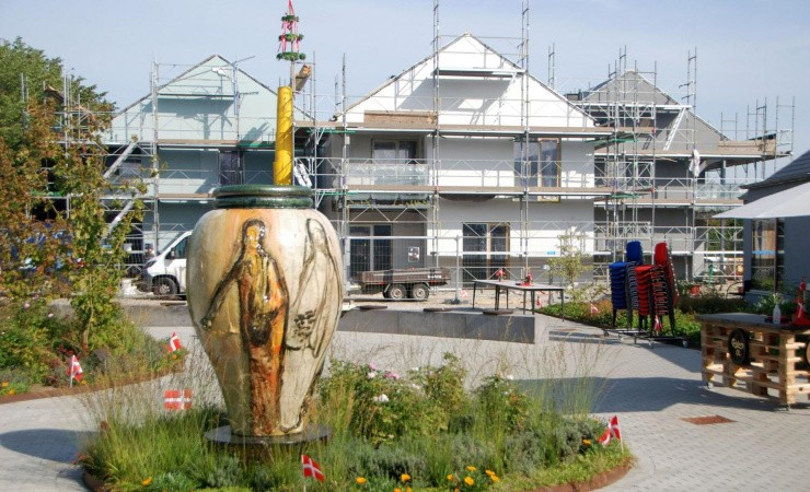 Rejsegilde på seniorboligprojekt i Roskilde