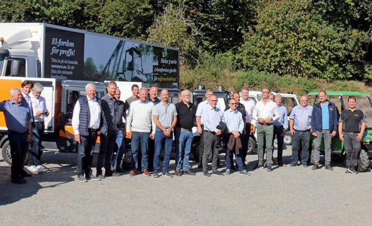 Melex-el-lastbiler er nu landsdækkende