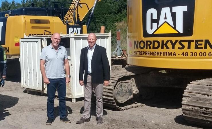 Nordsjællandsk storentreprenør afprøver biodiesel
