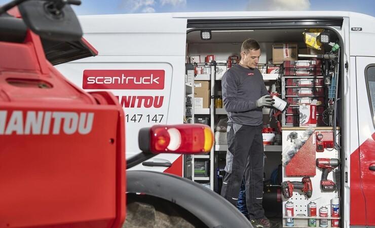 Scantruck runder 50 udekørende servicemontører