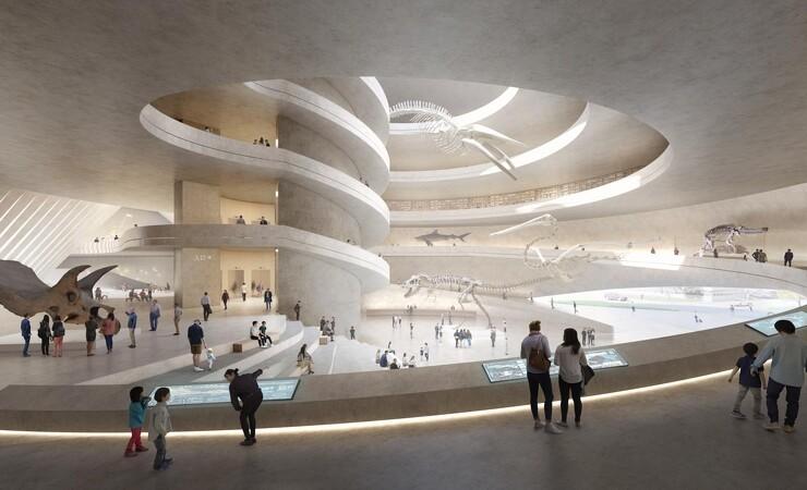 3XN del af team bag 100.000 kvadratmeter museum i Kina