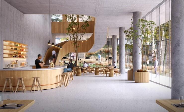 3XN med i 85 meter højt træprojekt i Schweiz