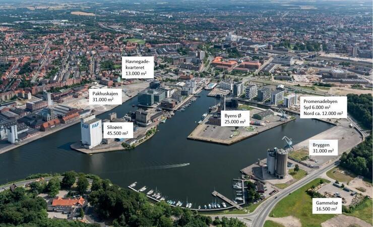 Kommune, havn og entreprenør i tæt samarbejde om udvikling af 185.000 kvadratmeter