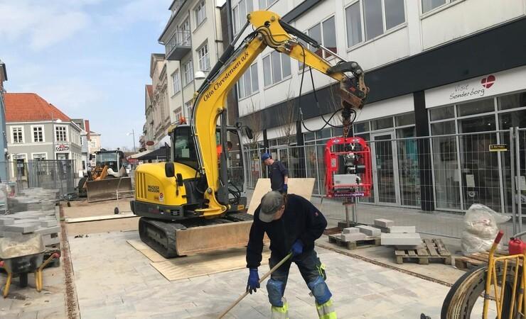Sønderjysk anlægsvirksomhed dropper dieselolie