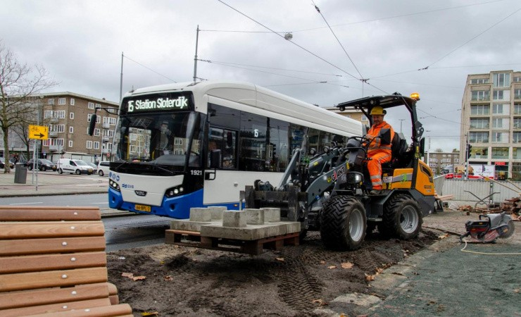 Elektriske Giant på storbyopgave