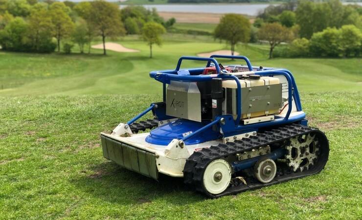 X-ROT klarer golfbanens stejleste områder