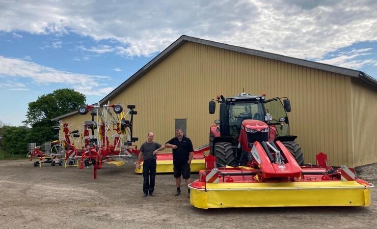 Ny Pöttinger maskinpark til HB Maskinservice